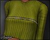 $ Ribbed Khaki Sweater