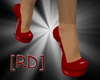[RD]Red Patent Pumps M