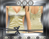 [KLL] Gold Satin Bustier