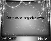 S; No Eyebrows M