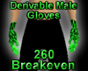 Derivable Male Gloves
