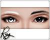 White+Black Eyebrows