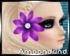 AM:: Purple Hair Flower