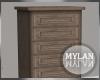 ~M~ | Wood Tall Dresser