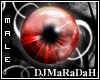 [dj] sparkle eyes red