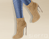 ;) Suede Boots Tan