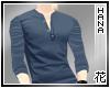 [T] Classy Blue Shirt