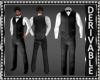 Vest Suit w/Bowtie Mesh