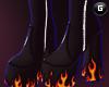 $ Fire Platforms Black