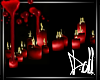 ★Monroe Red Candles