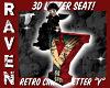 RETRO LETTER Y SEAT!
