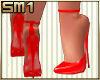 SM1 7in Strap Fiery Red