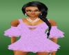 lillac,lila dance dress