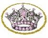 {BA69} Diamond crown rug