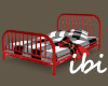 ibi Toddler Bed Red NP