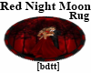 [bdtt]Red Night Moon Rug