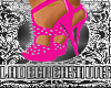 Pearl Pink Spike Heels