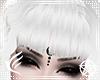 Ashe White Goth Bangs