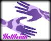 HA23 Purple Cow Gloves