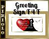 Greeting Sign F4F