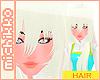 *M Ayame Hair White