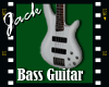 Bass Guitar White