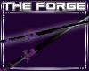 Industrial katana purple