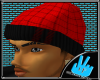 [LF] Plaidii Hat- Red