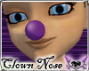 *E* Purple Clown Nose