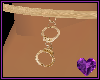 Handcuff Gold Anklet
