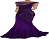 Purple sparkly ballgown