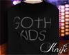 ♆ Goth Kids Sweater 'F