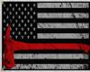 Law n Firemen Honor Flag