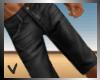 [ves] black jean shorts