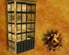 Steampunk Brass Cabinet