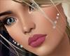 Diamond Cheek Piercings