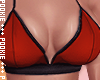 Kayla Top Bra Red