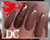 DC* NAILS BROWN