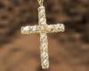 (H)Gold/diamond necklace
