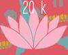 support sticker ; 20k