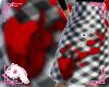 Bunny Hop Skirt B&Red