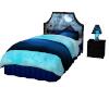 Blue bed