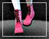 Pink Lolita Boots