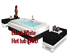 Black and White HotTub