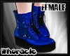 ✘Glam Boots [Blue]