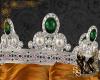 Emerald Jewel Crown