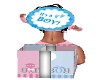 gender reveal box boy