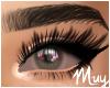 m. Irritated grey eyes