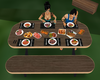animated bbq table
