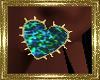 LD~ Heart Earrings